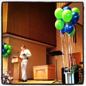Charter Day 2012 – Announcements and Sermon Notes, 8/26