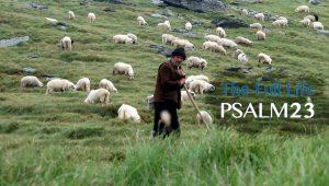 Psalm 23 - The Full Life - Shepherd