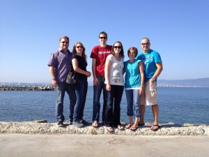 FHBC music team in Bulgaria (Budapest trip)