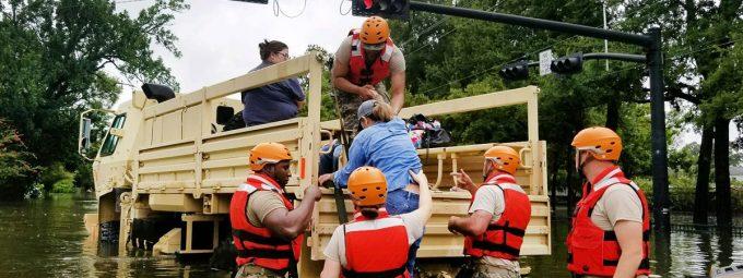 Hurricane Harvey Flood Rescue