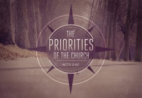 The Priorities of the Church