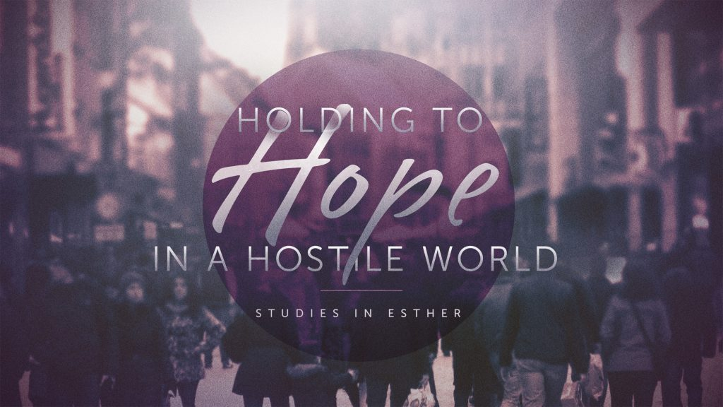 Holding To Hope in a Hostile World